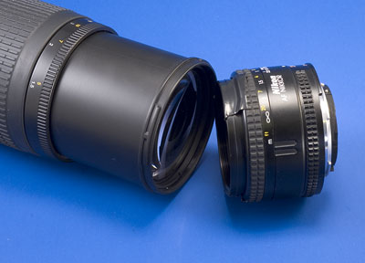 Reverse lens mating