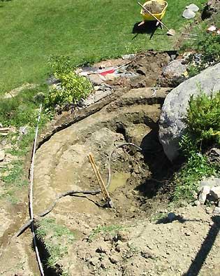 Installing A Backyard Pond