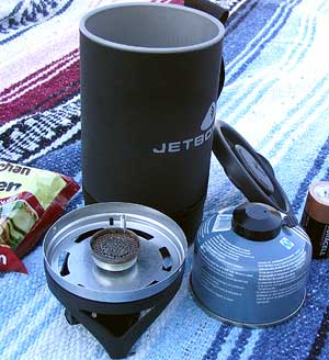 Jetboil Cup Contents