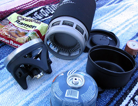 Jetboil components