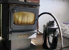 Pellet Master Stove & Vacuum