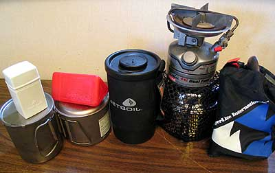 Backpack Stoves
