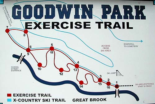 Goodwin Park Trail Map
