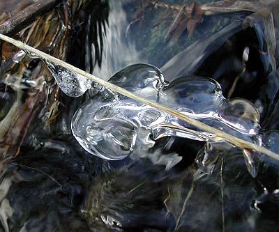 Ice lozenge