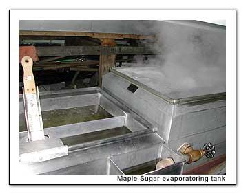 Boiling sap