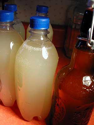 bottles at start