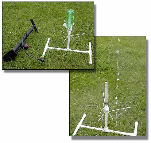 Water rockets and pop bottle rockets that fly to extremely high altitude.